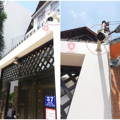 Dự án Lắp đặt camera tại nhà anh Tuấn [Tân Phú]