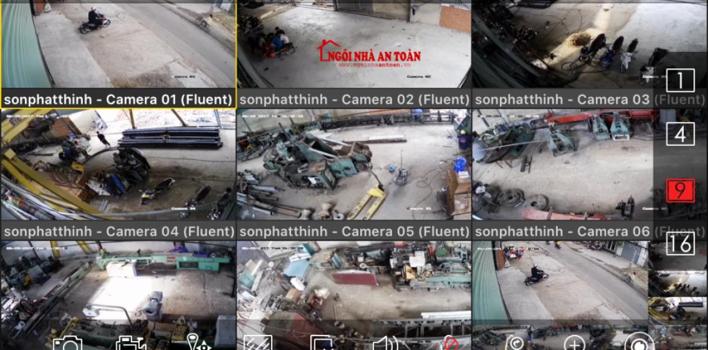 Dự án lắp đặt camera giám sát nhà xưởng [quận 12]