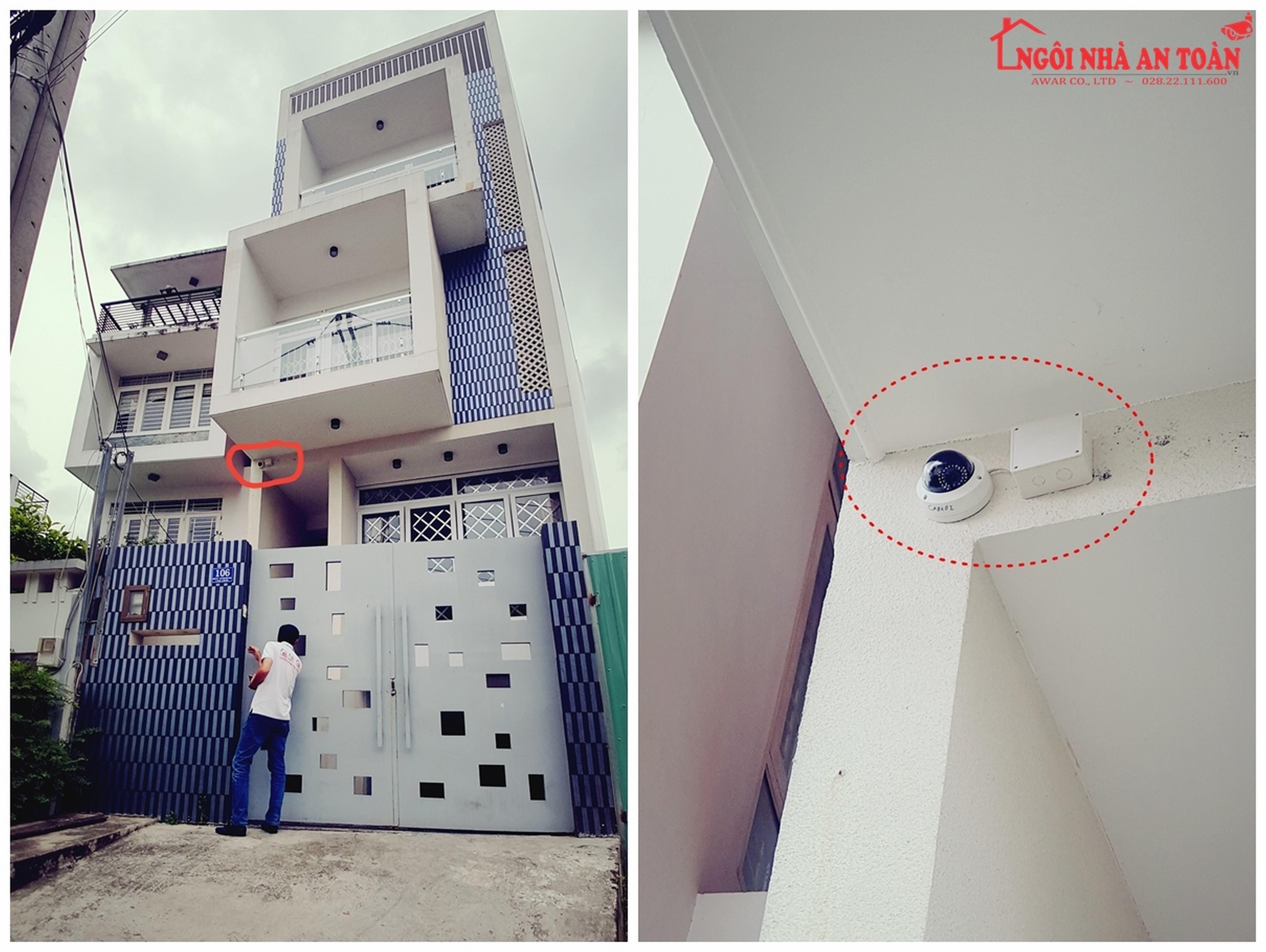 Lắp đặt camera giám sát hiệu quả cao